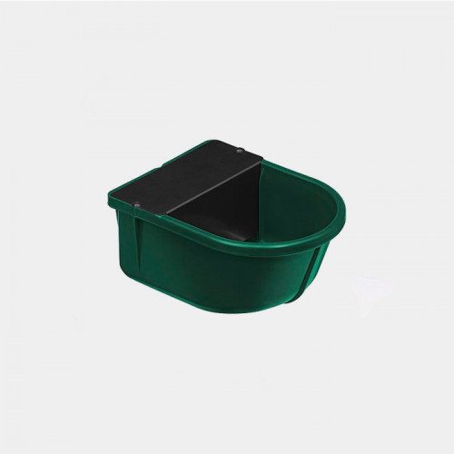 Constant level drinking trough green 3 litres