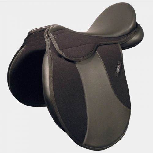 SPORTECH - Mixed saddle in synthetic material