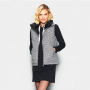 HARCOUR - Gilet tweed sans manches femme Day Light Winter 21